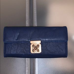 Charming Charlie's wallet and navy blue